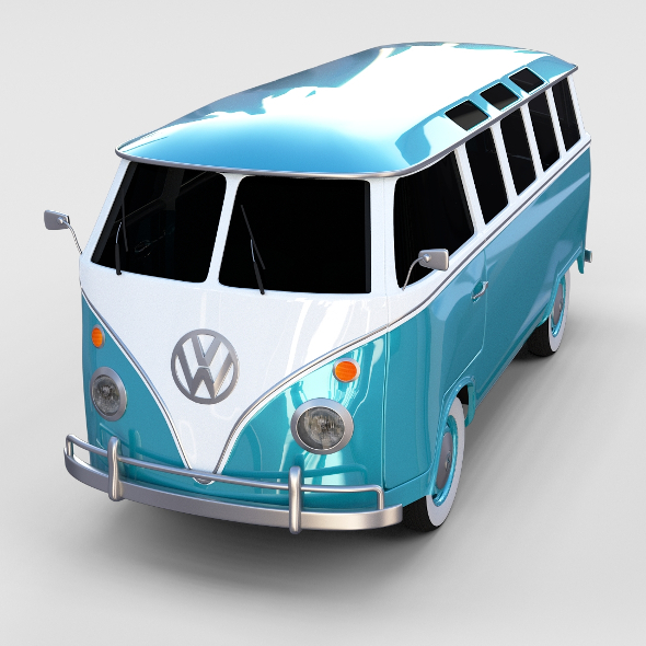 VW Bus Mk 1 rev - 3DOcean Item for Sale