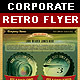 Corporate Retro Business Flyer - GraphicRiver Item for Sale