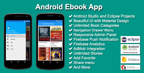 Android Ebook App