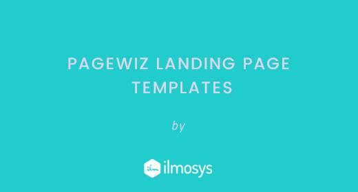 Pagewiz Landing Page Templates