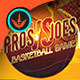 Pros VS Joes: Basketball Flyer Template