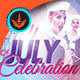 Fourth of July Celebration: Event Flyer Template
