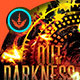 Out of Darkness CD Cover Artowork Template