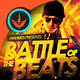 Battle of the Beats: CD Artwork Template