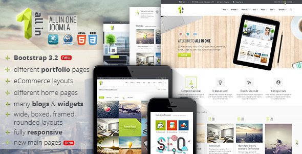 All In One — Multipurpose Joomla Template