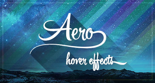 Aero - Hover Effects