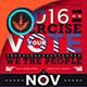 Exercise Your Vote Political Flyer & Mailer Template
