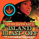 Island Blast Off: CD Cover Artwork Template