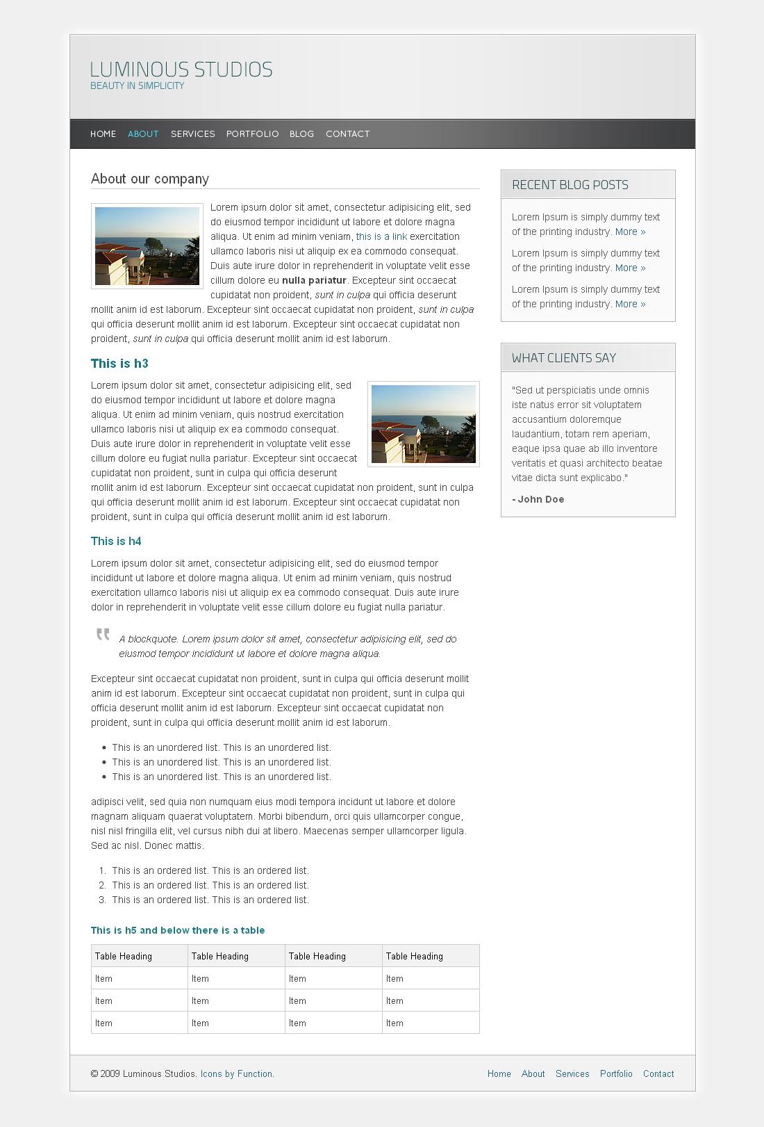 Luminous - About.html
