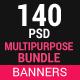 Multi Purpose Banners Bundle (10 Sets)
