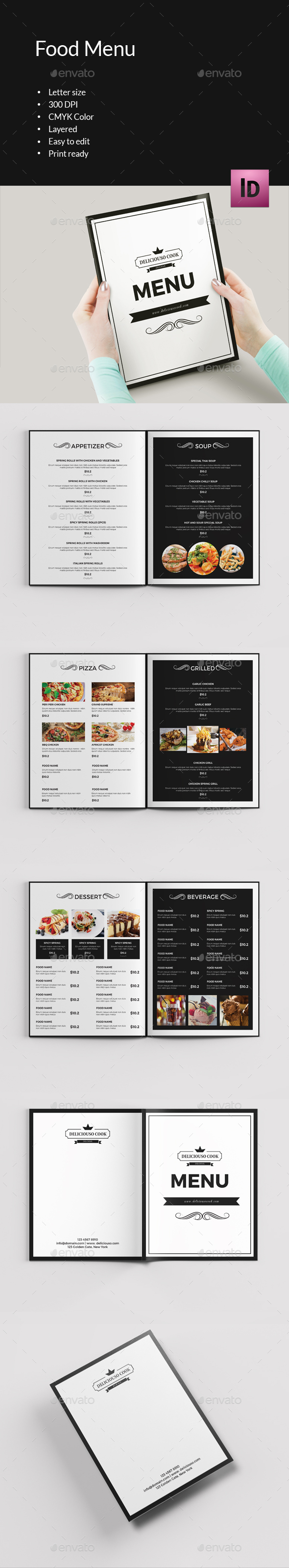 Food Menu Brochure-V396