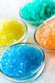 colorful bath salt in glass bowl - PhotoDune Item for Sale