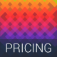 Awesome gradients. Pricing tables