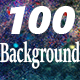 100Background Color Particle