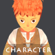 Young Adventurer - Isometric Character Sprite