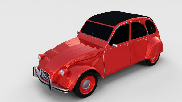 Citroen 2CV rev - 3DOcean Item for Sale