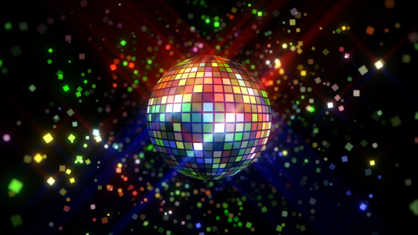 Download Neon Disco Ball VJ Loop nulled download