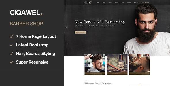 Cigawel - Barbershop WordPress Theme