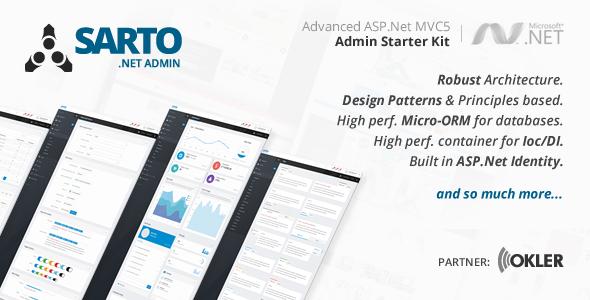 .Net Admin Starter Kit