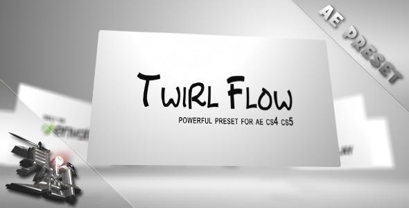 VideoHive Twirl Flow Preset 1694169