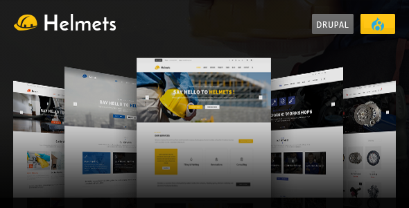 Helmets - Drupal 8 Theme for Handyman