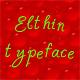 Elthin typeface