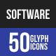 Software Development Glyph Icons