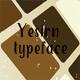 Yesirn typeface