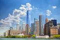 Lower Manhattan skyscrapers