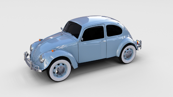 3DOcean VW Beetle rev 17326006