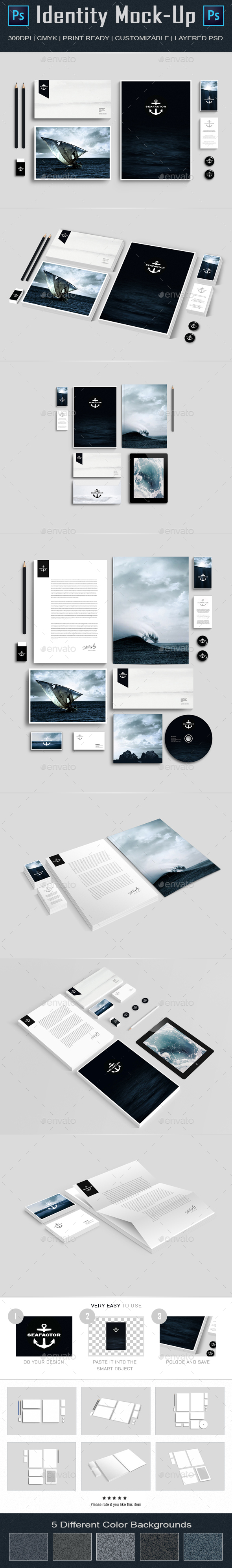Branding Identity Mock Up I (Stationery)