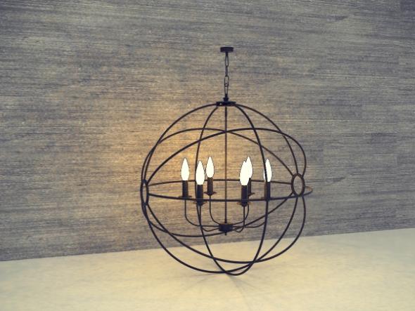 Ethnic Light Model No 006 - 3DOcean Item for Sale
