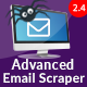 Advanced Email Scraper (AES)