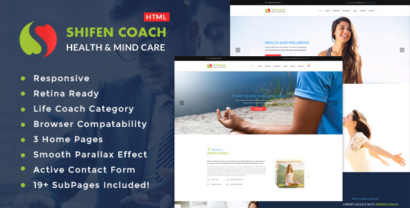 Shifen Coach - Personal Development Coach HTML Template