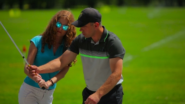 Download The Man Train a Girl How To Hit The Ball In Golf nulled download