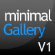 minimalGallery V1 - (XML Driven Photo Gallery) - ActiveDen Item for Sale