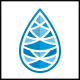 Poly Water Drop Logo