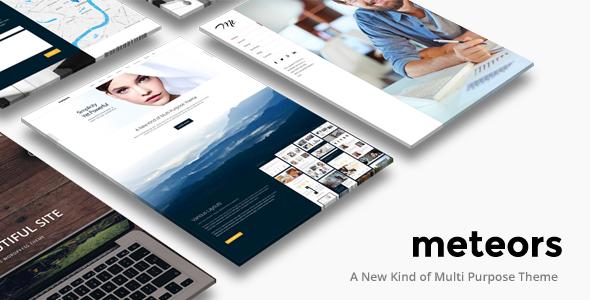 Business Multi-Purpose | Meteors Theme
