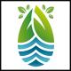 Eco Water Drop Logo