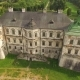 Aerial View Of Pidhirtsi Castle