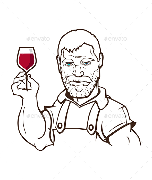 Wine Maker Character
