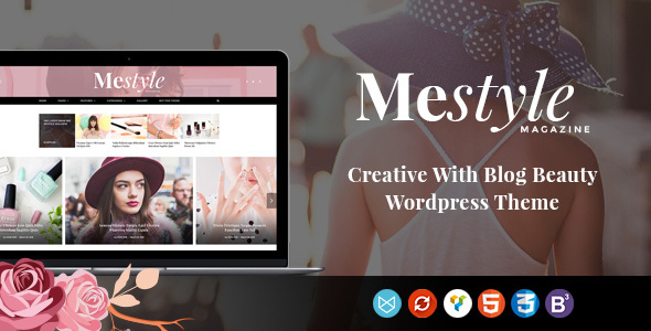 Download Mestyle  -  Beauty Blog Responsive WordPress Theme nulled download