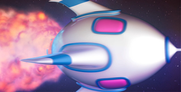 VideoHive Rocket Logo Reveal 1716935