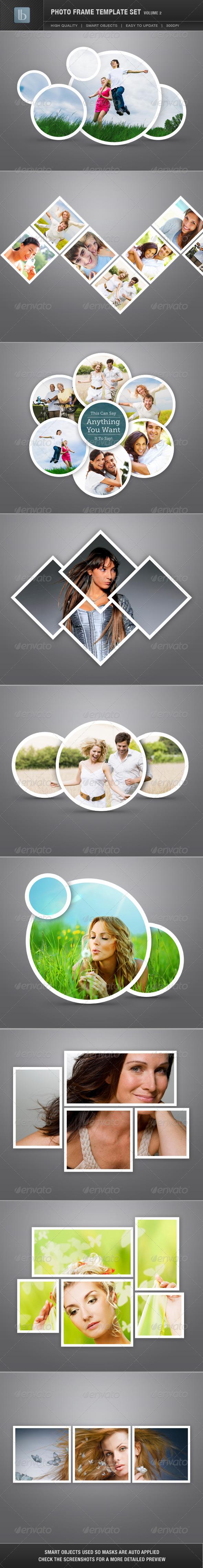 GraphicRiver Photo Frame Template Set Vol 2 1724109