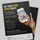 Smartphone Repair Service Flyer