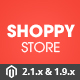 Shoppy Store - Responsive Magento 2 & 1.9 Theme