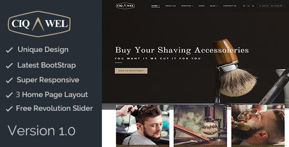 Cigawel - HTML Salon Template