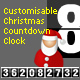 Customisable Christmas Countdown Clock - ActiveDen Item for Sale
