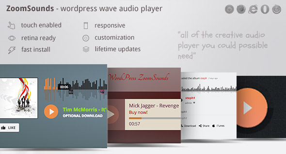 ZoomSounds - WordPress Audio Player