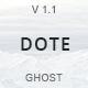 Dote - Responsive Minimal Ghost Theme